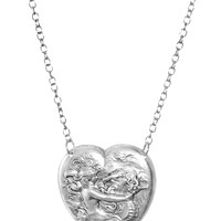 Seahorse and the Siren Heart Necklace