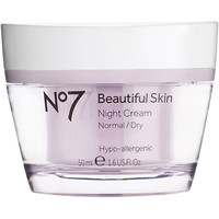 No 7 Beautiful Skin Night Cream Normal/Dry Skin