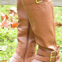 Just Pick Me Boots: Cognac