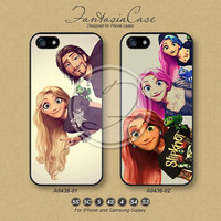Phone Cases, iPhone 5 case, iPhone 5C Case, iPhone 5S case, Disney Tangled, iPhone 4S Case, Samsung Galaxy S3, Samsung Galaxy S4, FA0436