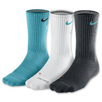 Men's Nike Dri-FIT Fly Crew 3-Pack Socks