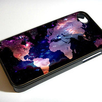 FREE SHIPPING, Worldwide Map Galaxy Nebula, iPhone 4, iPhone 4s, Samsung Galaxy S3, Samsung Galaxy S4