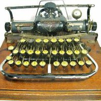1890s BLICKENSDERFER 7   Typewriter in by WellWudJaLookAtThat