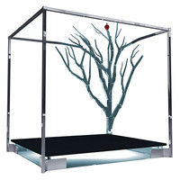 "Limited Edition Bed by Charles Hollis Jones ""Tree Of Life"" Adam & Eve Series"