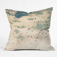 "Shannon Clark Summer Flight Sight Throw Pillow - Indoor / 26"" x 26"" / Pillow Cover Only"