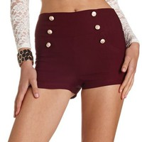 HIGH WAIST MILLENNIUM SAILOR SHORT