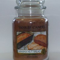 Yankee Candle 22 oz Jar Banana Nut Bread
