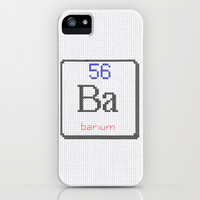 Ba Barium 56 iPhone & iPod Case by LacyDermy