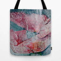 Poppy- JUSTART © Tote Bag by JUSTART