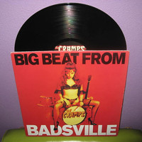 Rare Vinyl Record The Cramps - Big Beat From Badsville 1990s Punk Psychobilly Lux Interior