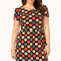 Groovy Polka Dot Dress