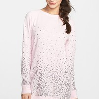 Make + Model 'Bling' Fleece Nightshirt | Nordstrom