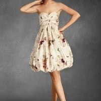 Twirled Sweetheart Dress in the SHOP Dresses at BHLDN
