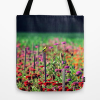 Live in the Sunshine Tote Bag by RDelean