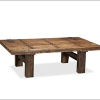 HASTINGS RECLAIMED WOOD COFFEE TABLE