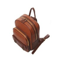 2013 New Hot Sale Women PU Leather Popular Backpack Retro Bag Satchel Handbags - Brown,Size - Medium