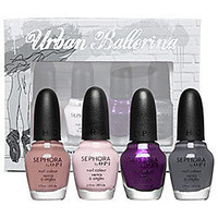 Sephora: SEPHORA by OPI Urban Ballerina Mini Collection: Nail Polish Sets