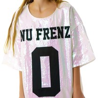 No Nu Frenz Sequins Top