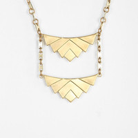 Tiered Tri Necklace - Urban Outfitters