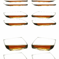 Rocking Whiskey Glass / Set of 4 - The Afternoon