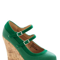 Fairway to Go Wedges | Mod Retro Vintage Heels | ModCloth.com