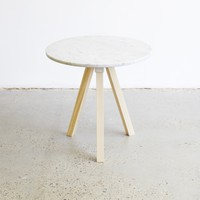 A3-Joint Marble Side Table - Tables - NEW
