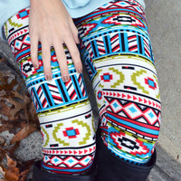 Sugar High Southwestern Leggings