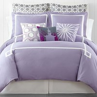 Happy Chic by Jonathan Adler Chloe Solid Duvet Cover Set & Accessories