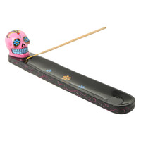 Pink Sugar Skull Incense Burner