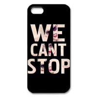 Simple Joy Phone Case, Miley Cyrus Hard Plastic Back Cover Case for iphone 5, 5S