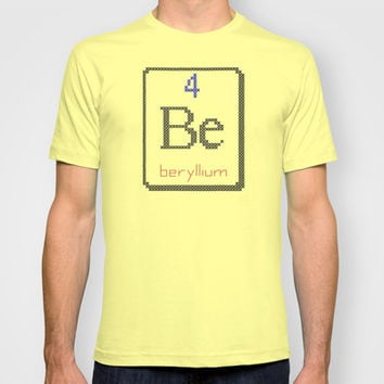 Be beryllium 4 T-shirt by LacyDermy