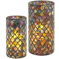 Moorish Tile Mosaic LED Candles