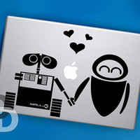 WallE and Eve Decal for MacBook Pro Macbook Air by DecalDecals