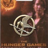 NEW The Hunger Games Mockingjay Pin Brooch Prop Replica