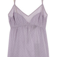 3.1 Phillip Lim | Point d'esprit stretch-silk camisole | NET-A-PORTER.COM