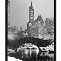 Amanti Art Wall Art, Central Park Framed Textured Art