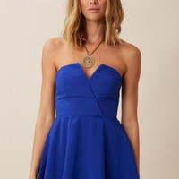 BOMBSHELL CIRCLE MINI DRESS