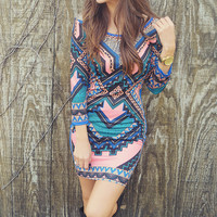 Dream In Color Dress: Multi