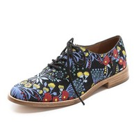 Garden Print Oxfords