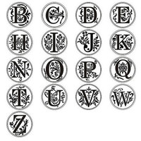 """1"""" Wax Seal Initial Letter Stamp x 1"""