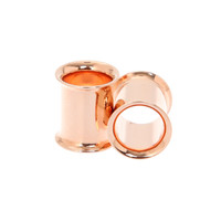 Morbid Metals Rose Gold Plug 2 Pack