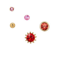 MISMATCH STUD EARRINGS - Betsey Johnson