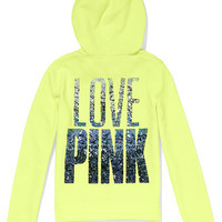 Funnel-neck Perfect Zip Hoodie - PINK - Victoria's Secret