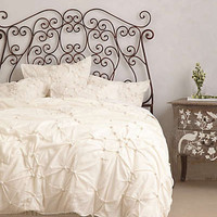 Pearle Duvet by Anthropologie White King Bedding