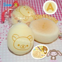 San-X All-Stars Colorful Fluffy Bread Charms