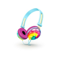 Tie Dye Fat Bass Headphones