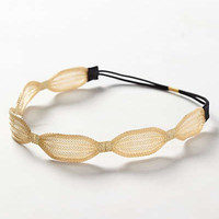 Scalloped Mesh Headband