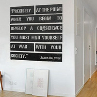 Urban Quote Wall Decal