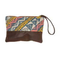 SWEET SUNSETZ ZIPPERED POUCH