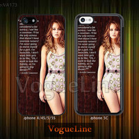 Jennifer Lawrence, iPhone 5 case iPhone 5c case iPhone 5s case iPhone 4 case iPhone 4s case, iPhone case, Phone case Jennifer Lawrence-VA173